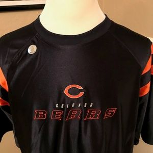 NWT NFL Team Apparel Chicago Bears Logo Shirt XL
